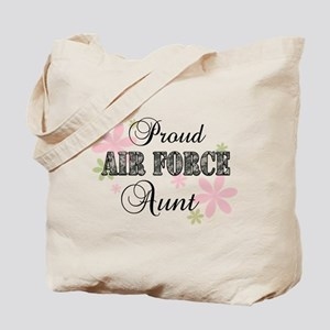 Air Force Aunt [fl camo] Tote Bag